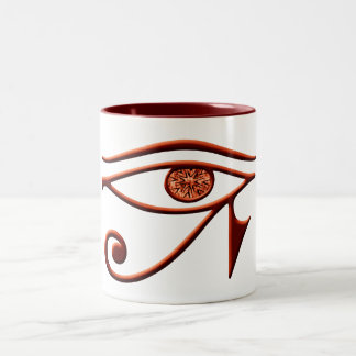 Fiery Eye Of Horus Mug