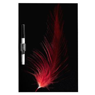 Fiery Feather Dry-Erase Board