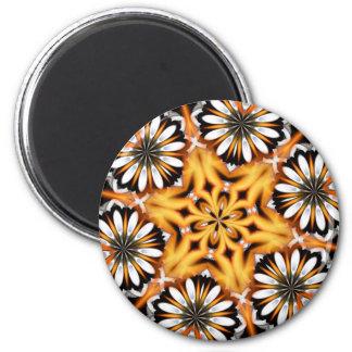 Fiery Flower Magnet