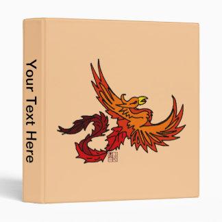 Fiery Flying Phoenix of Autumn Binder