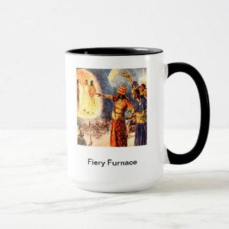 Fiery Furnace  Daniel 3 Mug