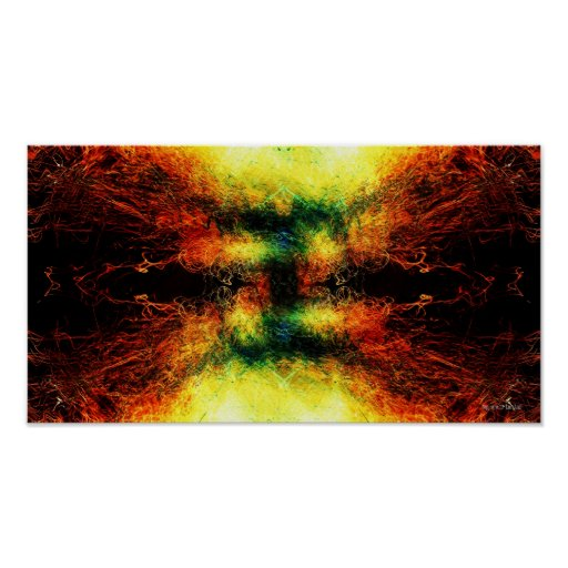 Fiery Fusion Posters