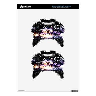 Fiery Galaxy Xbox 360 Controller Decal