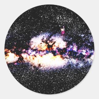 Fiery Galaxy Stickers