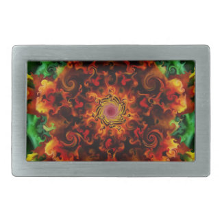 Fiery Garden Belt Buckle