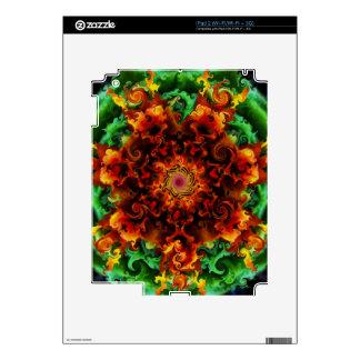 Fiery Garden Skin For The iPad 2