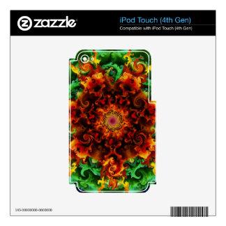 Fiery Garden iPod Touch 4G Decal