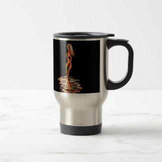 Fiery Girl Travel Mug