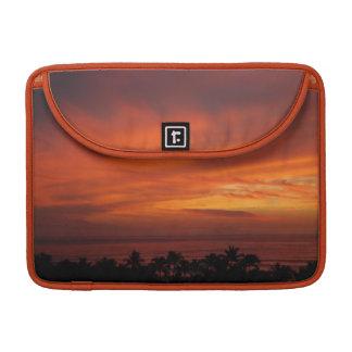 Fiery Hawaiian Sunset Flap Sleeve Sleeve For MacBooks