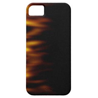 Fiery Hot Flames Backdrop iPhone SE/5/5s Case