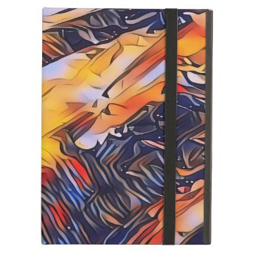 Fiery Igneous rock abstract Case For iPad Air