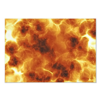 Fiery Inferno Explosion Textured Card