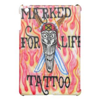 Fiery Jamaican Pirate Tattoo Graffiti Art iPad Cas Case For The iPad Mini