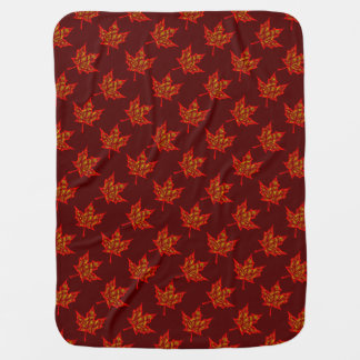 Fiery Leaves Baby Blanket