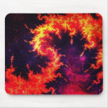 Fiery Mouse Pads