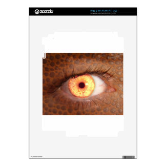 Fiery Mutant Eye Mouse Pad Decals For iPad 2