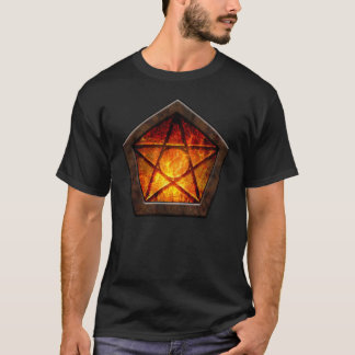 Fiery Pentacle T-Shirt
