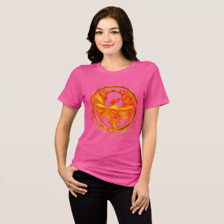 Fiery Phoenix Ladies Relaxed Fit T-Shirt