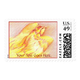 Fiery Phoenix Postage