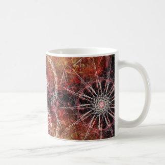Fiery Pinwheel Coffee Mug