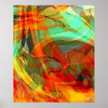 Fiery Print