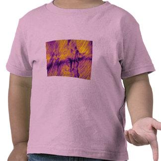Fiery red convergence tee shirt
