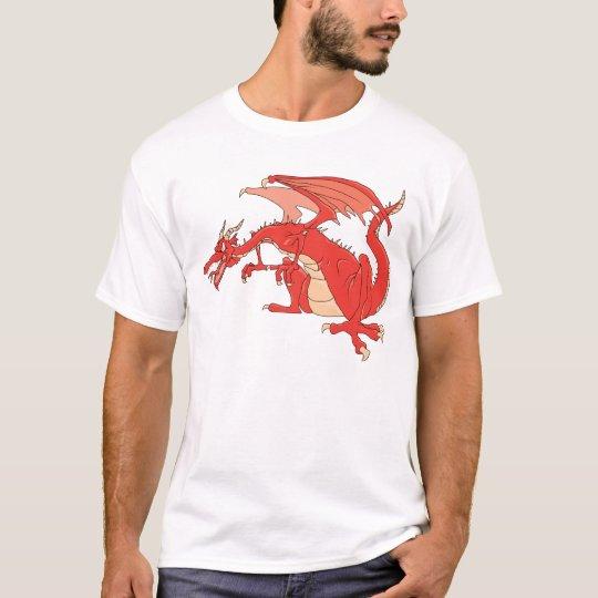 Fiery Red Dragon T-Shirt