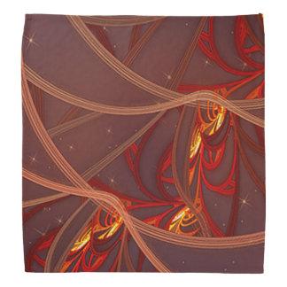 Fiery Red Moon Bandana