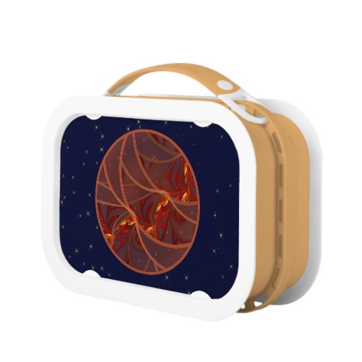 Fiery Red Moon Yubo Lunchboxes