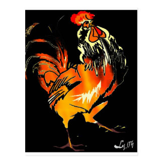 FIERY ROOSTER POSTCARDS