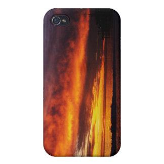 Fiery Santa Monica Sunset iPhone 4/4S Cover