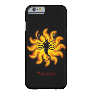Fiery Scorpio Barely There iPhone 6 Case