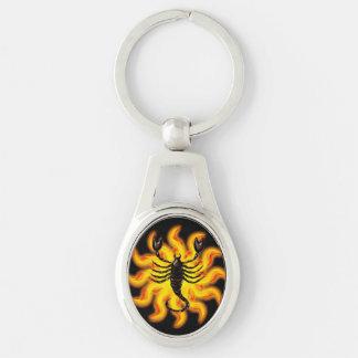 Fiery Scorpio Keychain