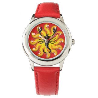 Fiery Scorpio Wristwatch