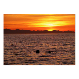 Fiery Sky at Birch Bay Business Cards