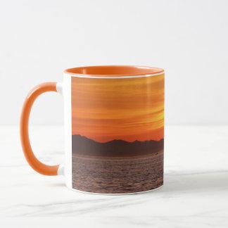 Fiery Sky at Birch Bay Mug