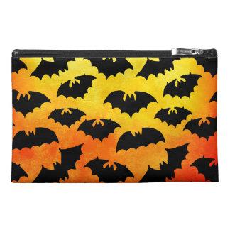 Fiery Sky Full of Bats Travel Accessory Bag