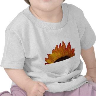 Fiery Sunflower Cutout Large Tees