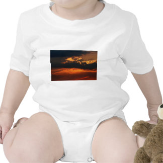 Fiery Sunset Infant Rompers