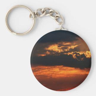 Fiery Sunset Keychain II