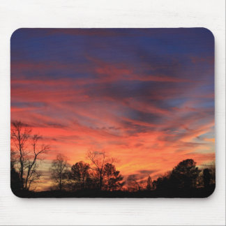 Fiery Sunset Mouse Pad