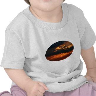 Fiery Sunset Oval Shirt Infant
