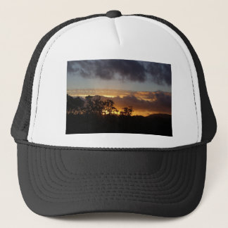 Fiery Sunset Trucker Hat
