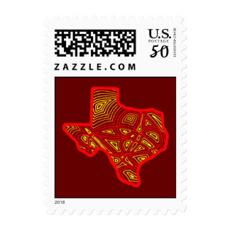 Fiery Texas Postage