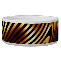 Fiery Tiger Stripes Bowl