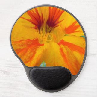 Fiery Tones Nasturtium Gel Mouse Pad