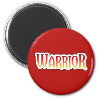 Fiery WARRIOR Magnet