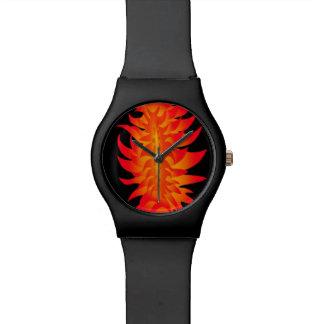Fiery watch design