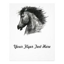 Fiery Wild Horse Flyer