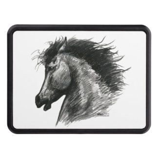 Fiery Wild Horse Hitch Cover